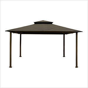 Image of Paragon Outdoor Kingsbury 11x14 Gazebo with Grey Top
