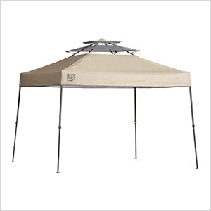 Quik Shade Taupe 10 x 17 ft. Straight Leg Canopy