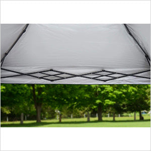 Image of Quik Shade Taupe 10 x 17 ft. Straight Leg Canopy
