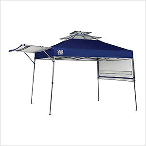 Image of Quik Shade Blue 10 x 17 ft. Straight Leg Canopy