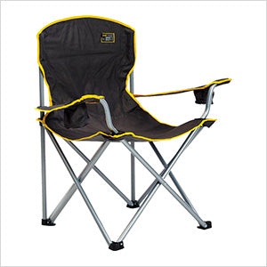 Quik Shade Black Heavy Duty Quad Chair