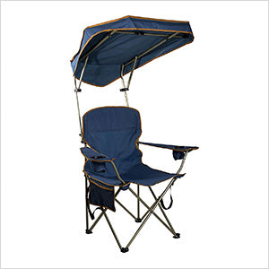 Quik Shade Navy Blue Max Shade Chair