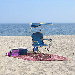 Image of Quik Shade Navy Blue Max Shade Chair