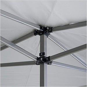 Quik Shade White 17 x 17 ft. Straight Leg Canopy