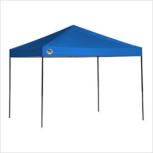 Image of Quik Shade Blue 8 x 10 ft. Straight Leg Canopy