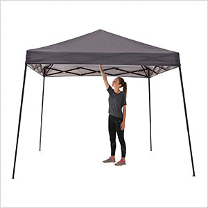 Image of Quik Shade Charcoal 10 x 10 ft. Straight Leg Canopy