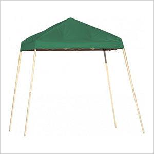 ShelterLogic 22572 8x8 SL Pop-up Canopy, Green Cover, Carry Bag