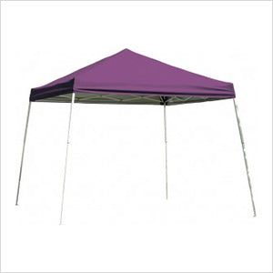 ShelterLogic 22701 8x8 SL Pop-up Canopy, Purple Cover, Carry Bag