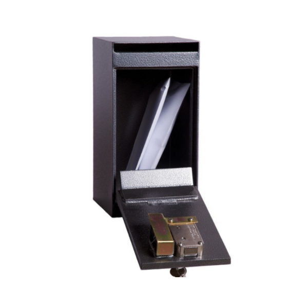 Hollon HDS-01K Drop Slot Safe with Key Lock