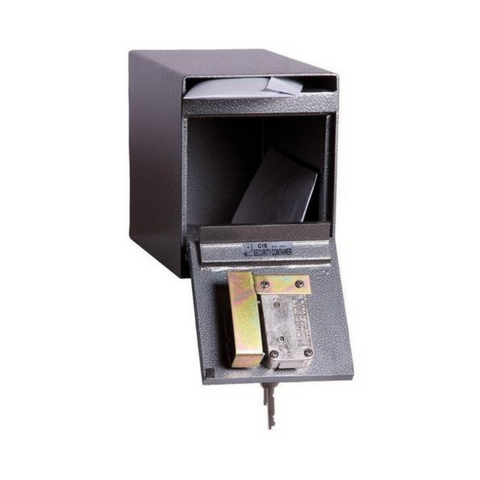 Hollon HDS-02K Drop Slot Safe with Key Lock