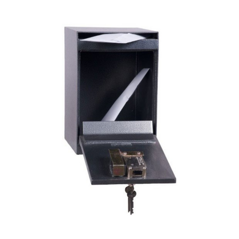 Hollon HDS-03K Drop Slot Safe with Key Lock