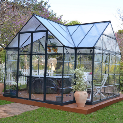 Image of Palram HG5400 Chalet 12' x 10' Greenhouse