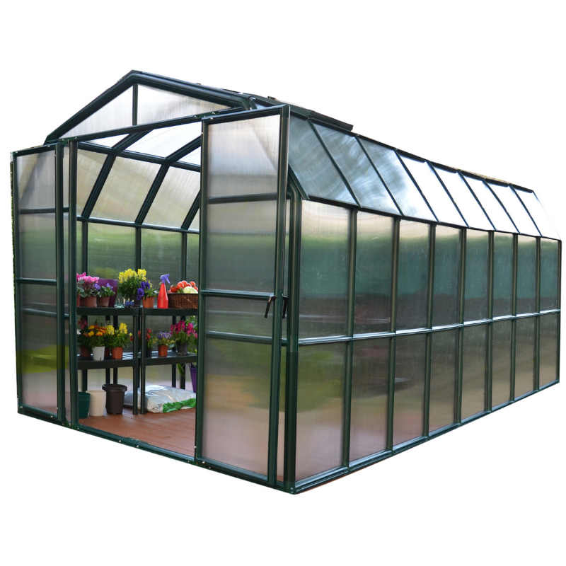 Rion Grand Gardener 8' x 16' Greenhouse HG7216- Twin Wall