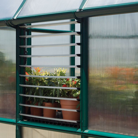 Image of Palram Rion Prestige 8' x 12' Greenhouse HG7312