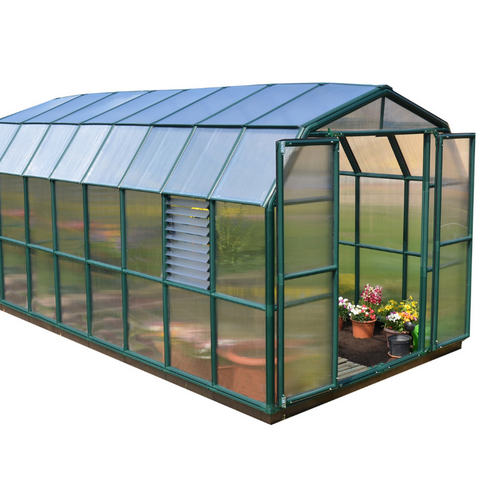 Image of Palram Rion Prestige 8' x 16' Greenhouse HG7316