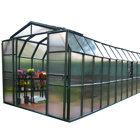 Image of Palram Rion Prestige 8' x 20'  Green House HG7320