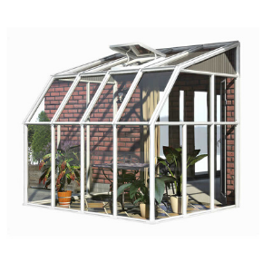 Image of Rion 6x8 Sun Room 2 Greenhouse Kit HG7508 - White