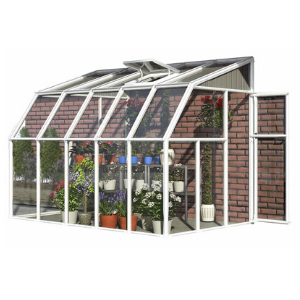 Image of Rion 6x10 Sun Room 2 Greenhouse Kit HG7510 - White