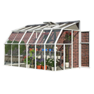 Image of Rion 6x12 Sun Room 2 Greenhouse Kit HG7512 - White
