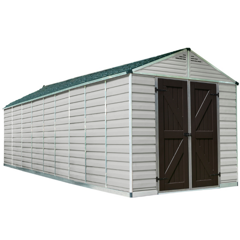 Image of Palram HG9820T SkyLight 8' x 20' Storage Shed - Tan