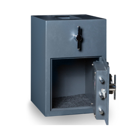 Hollon RH-2014K Rotary Hopper Depository Safe with Key Lock