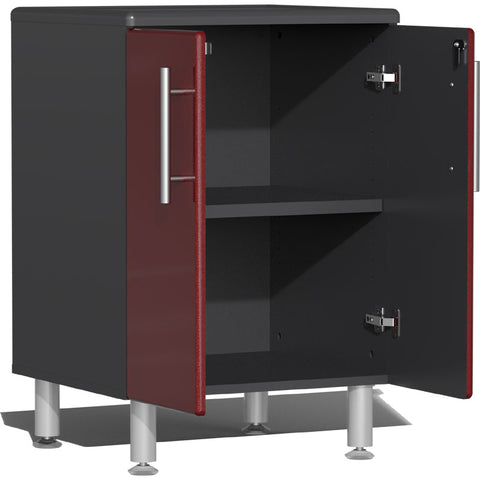 Image of Ulti-MATE Garage 2.0 Series 2-Door Red Base Cabinet