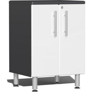 Ulti-MATE Garage 2.0 Series 2-Door White Base Cabinet