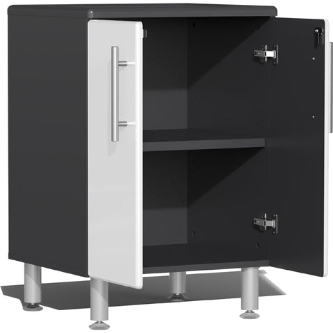 Image of Ulti-MATE Garage 2.0 Series 2-Door White Base Cabinet