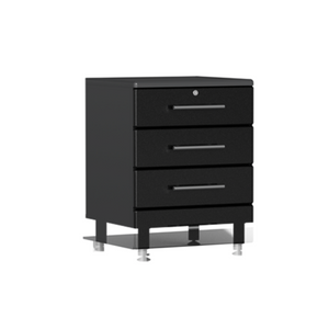 Ulti-MATE Garage 2.0 Series 4-Drawer Black Base Cabinet