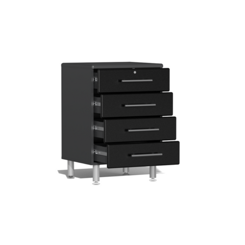 Image of Ulti-MATE Garage 2.0 Series 4-Drawer Black Base Cabinet