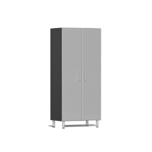 Ulti-MATE Garage 2.0 Series 2-Door Tall Silver Cabinet