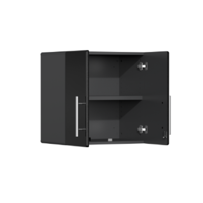 Ulti-MATE Garage 2.0 Series 2-Door Black Wall Cabinet