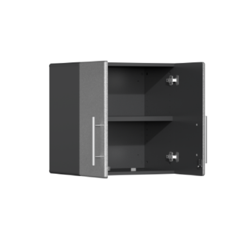 Ulti-MATE Garage 2.0 Series 2-Door Silver Wall Cabinet