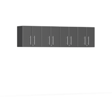 Ulti-MATE Garage 2.0 Series 4-Piece Wall Grey Cabinet Kit