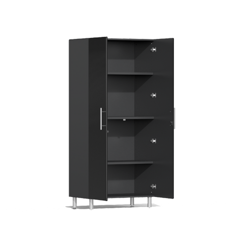 Image of Ulti-MATE Garage 2.0 Series 2-Pc Tall Black Cabinet Kit