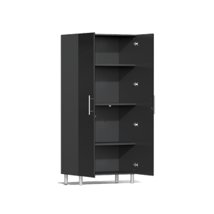 Ulti-MATE Garage 2.0 Series 2-Pc Tall Black Cabinet Kit