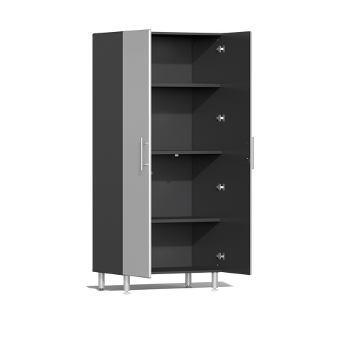 Image of Ulti-MATE Garage 2.0 Series 2-Pc Tall Silver Cabinet Kit