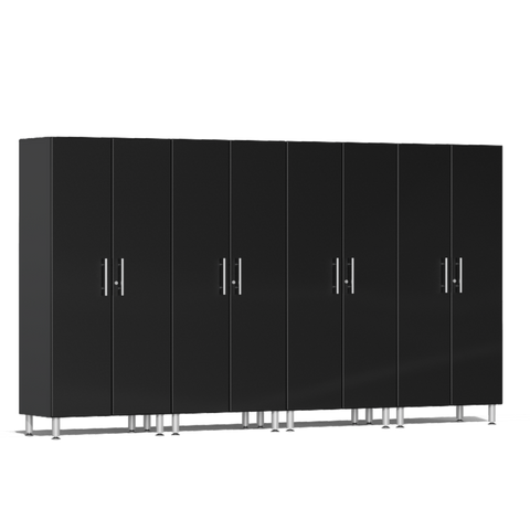 Image of Ulti-MATE Garage 2.0 Series 4-Pc Tall Black Cabinet Kit