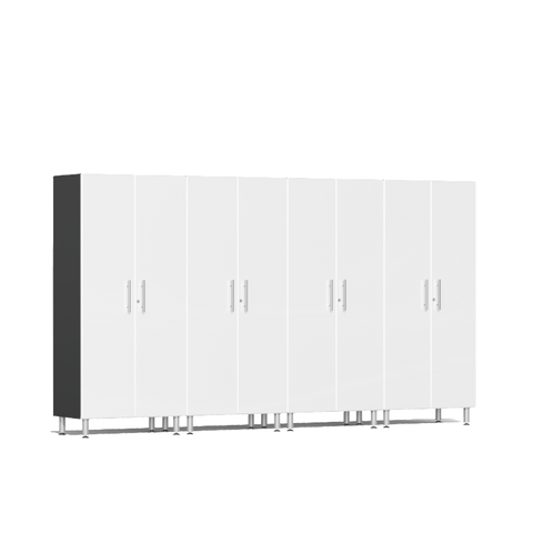 Image of Ulti-MATE Garage 2.0 Series 4-Pc Tall White Cabinet Kit