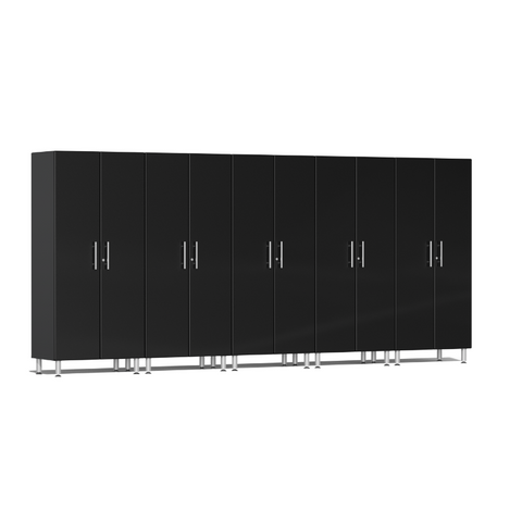 Image of Ulti-MATE Garage 2.0 Series 5-Pc Tall Black Cabinet Kit