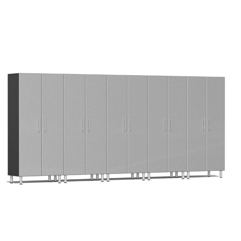 Ulti-MATE Garage 2.0 Series 5-Pc Tall Silver Cabinet Kit