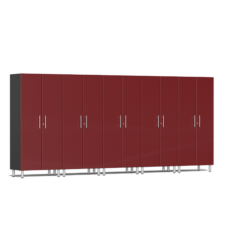 Image of Ulti-MATE Garage 2.0 Series 5-Pc Tall Red Cabinet Kit
