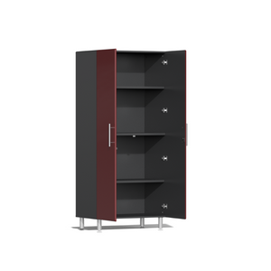 Ulti-MATE Garage 2.0 Series 5-Pc Tall Red Cabinet Kit