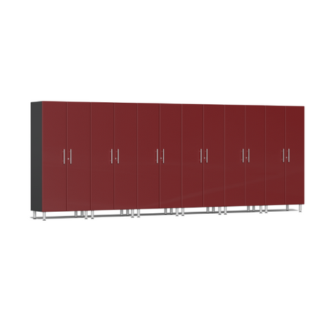 Image of Ulti-MATE Garage 2.0 Series 6-Pc Tall Red Cabinet Kit