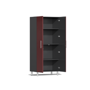 Ulti-MATE Garage 2.0 Series 6-Pc Tall Red Cabinet Kit