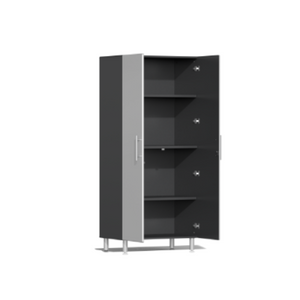 Ulti-MATE Garage 2.0 Series 6-Pc Tall Silver Cabinet Kit