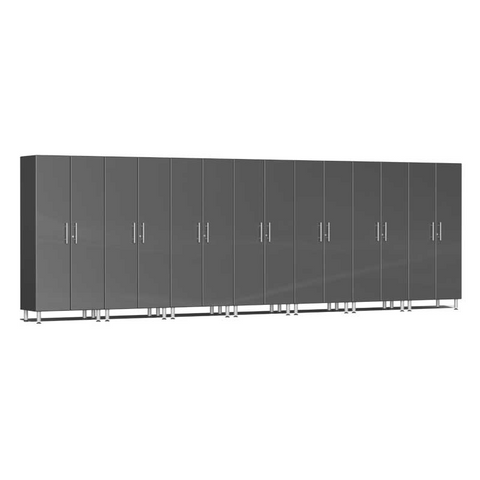 Image of Ulti-MATE Garage 2.0 Series 7-Pc Tall Grey Cabinet Kit