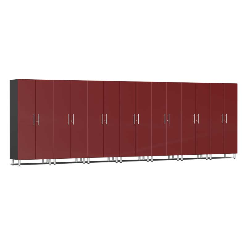 Ulti-MATE Garage 2.0 Series 7-Pc Tall Red Cabinet Kit