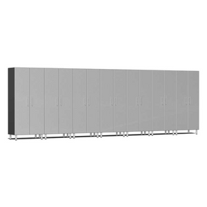 Ulti-MATE Garage 2.0 Series 7-Pc Tall Silver Cabinet Kit