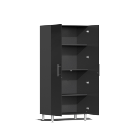 Image of Ulti-MATE Garage 2.0 Series 8-Piece Tall Black Cabinet Kit